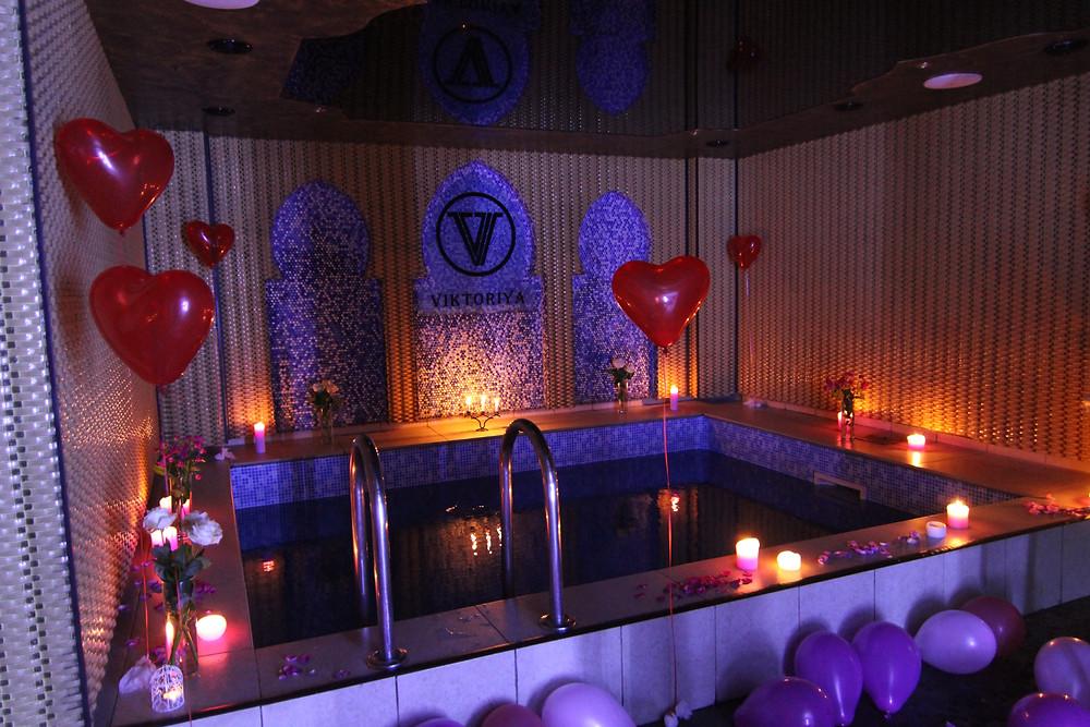 Альтечо, романтический ужин в бассейне 2