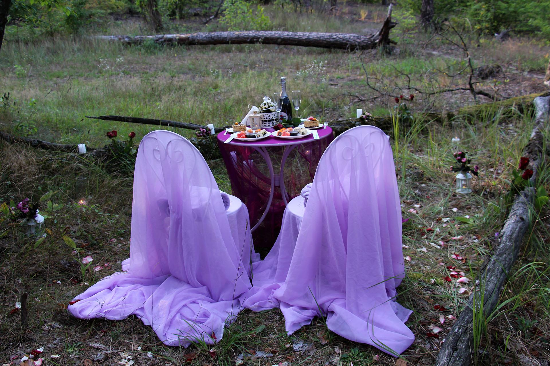 Ужин в лесу от Альтечо (28)