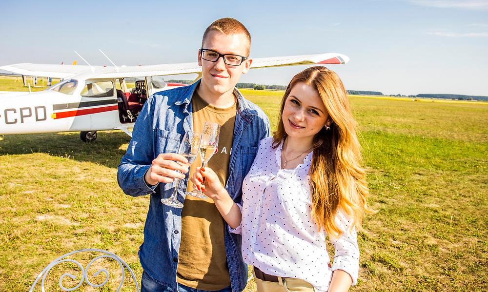 Прогулка на самолете для двоих, Киев, Сервис романтики Альтечо
