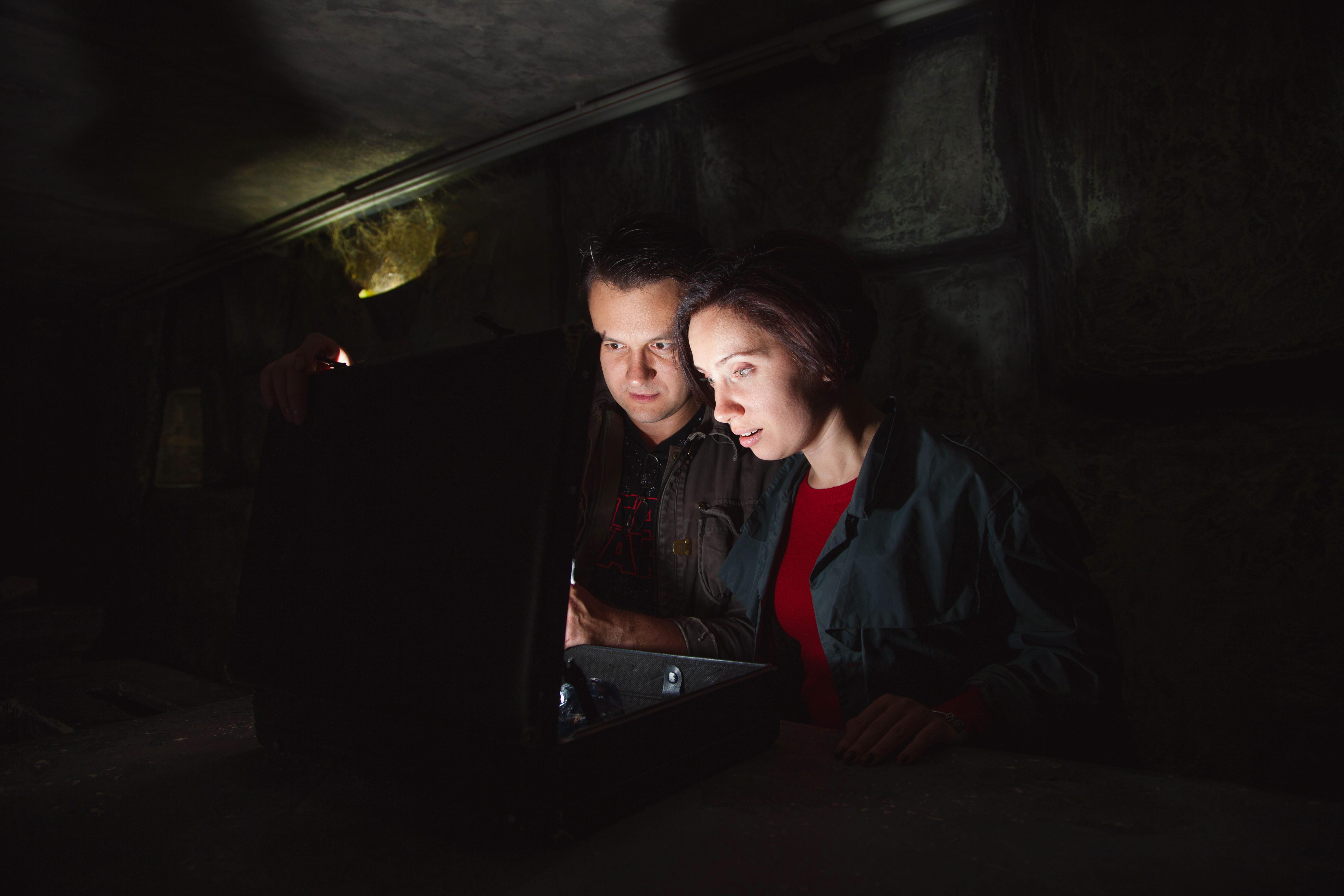 Романтический ужин в подземелье от сервиса романтики Альтечо (8)