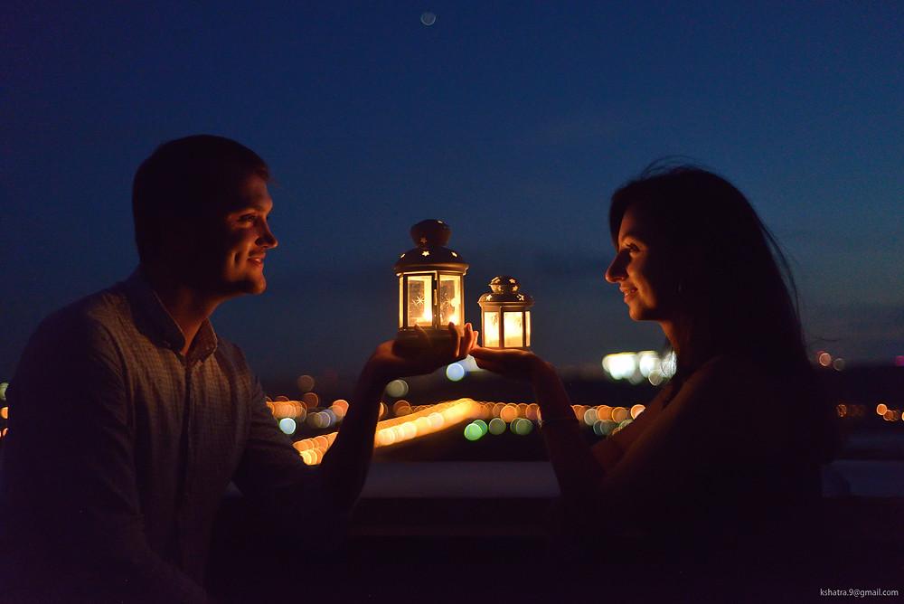 Ужин на крыше при свечах, Альтечо