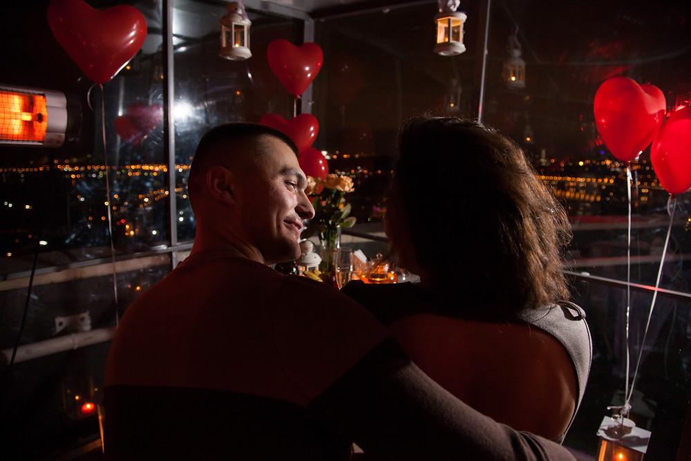 Свидание в необычном месте, сервис романтики Киев, Альтечо