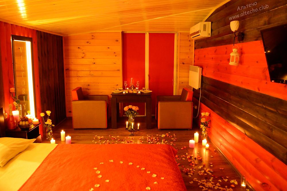 Альтечо свидание на крыше, романтический ужин, вечер для двоих 9