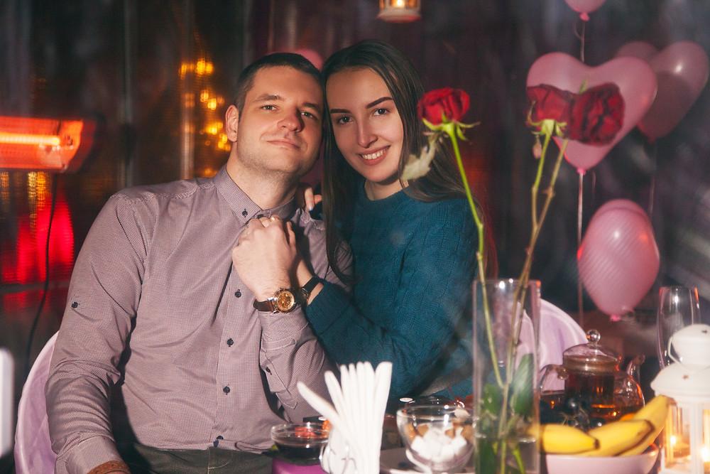 Романтический ужин в Киеве на крыше дома, Альтечо