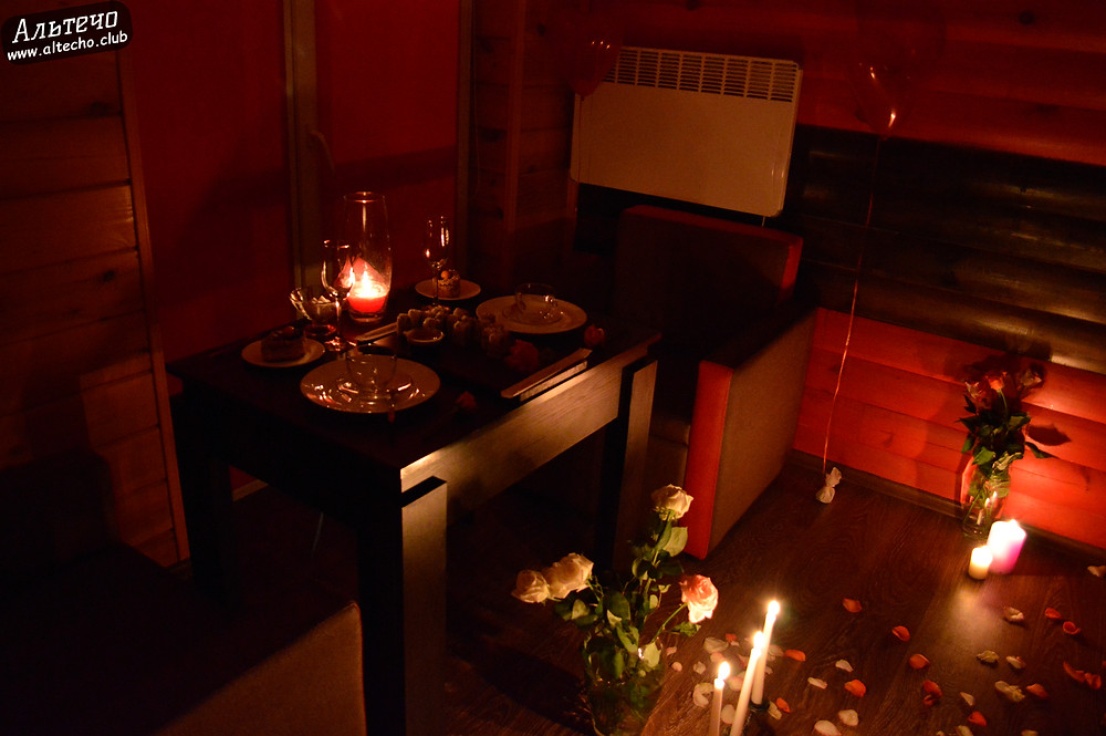 Альтечо, Романтический вечер, Свидание на крыше, ужин для двоих  11
