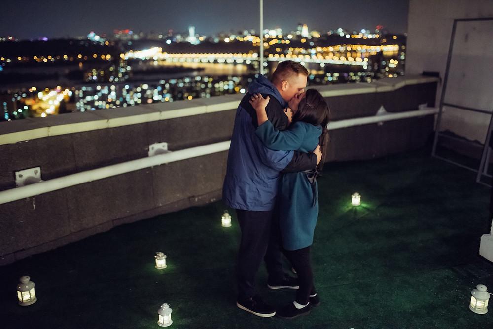 Романтика на крыше
