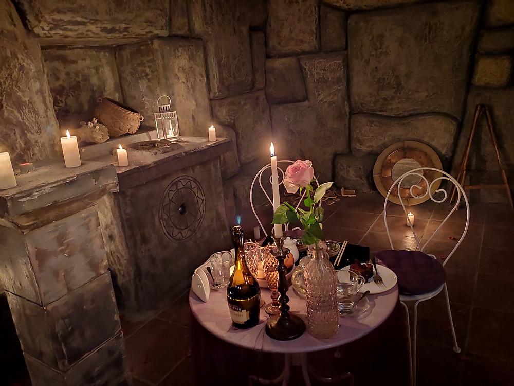 Романтический ужин в подземелье от Альтечо