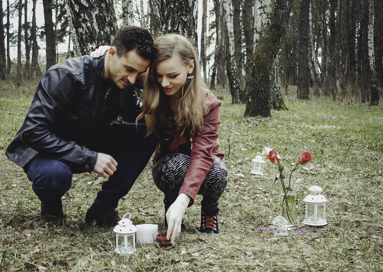 Альтечо, романтический ужин в лесу (26)