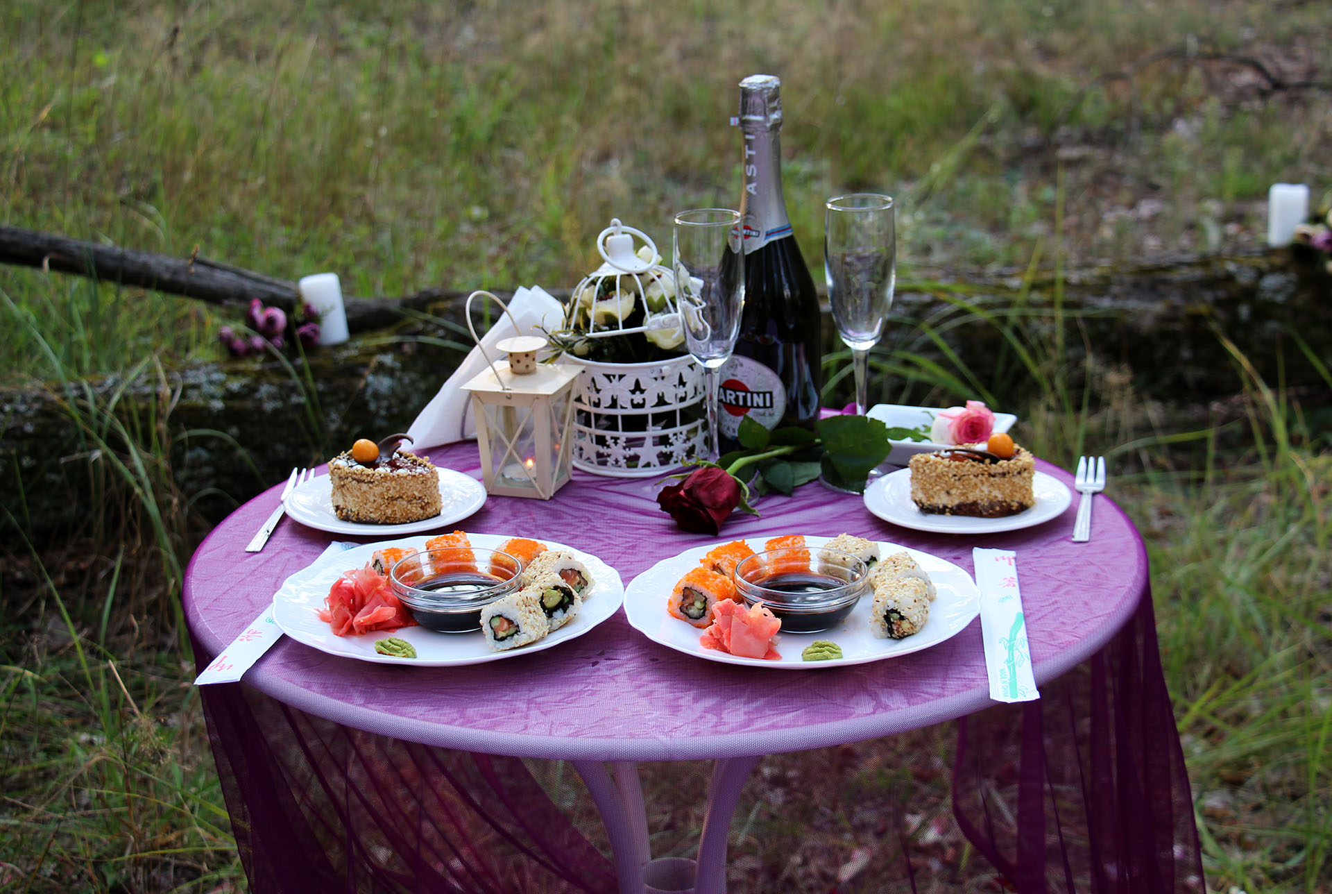 Ужин в лесу от Альтечо (29)