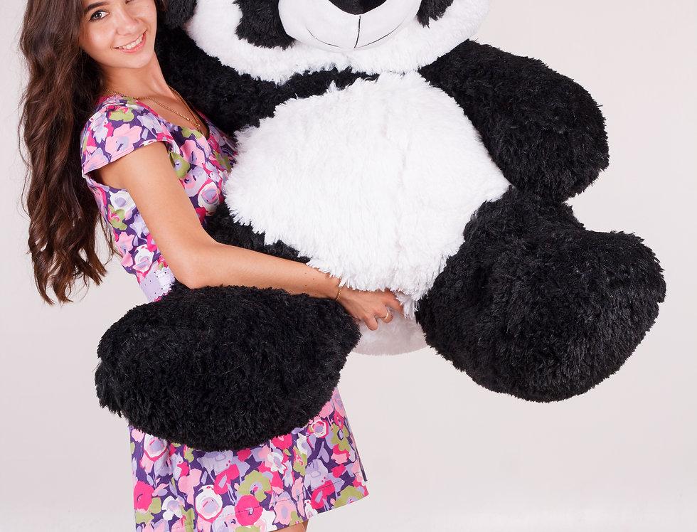 Мягкий плюшевый нежный медвежонок мишка панда