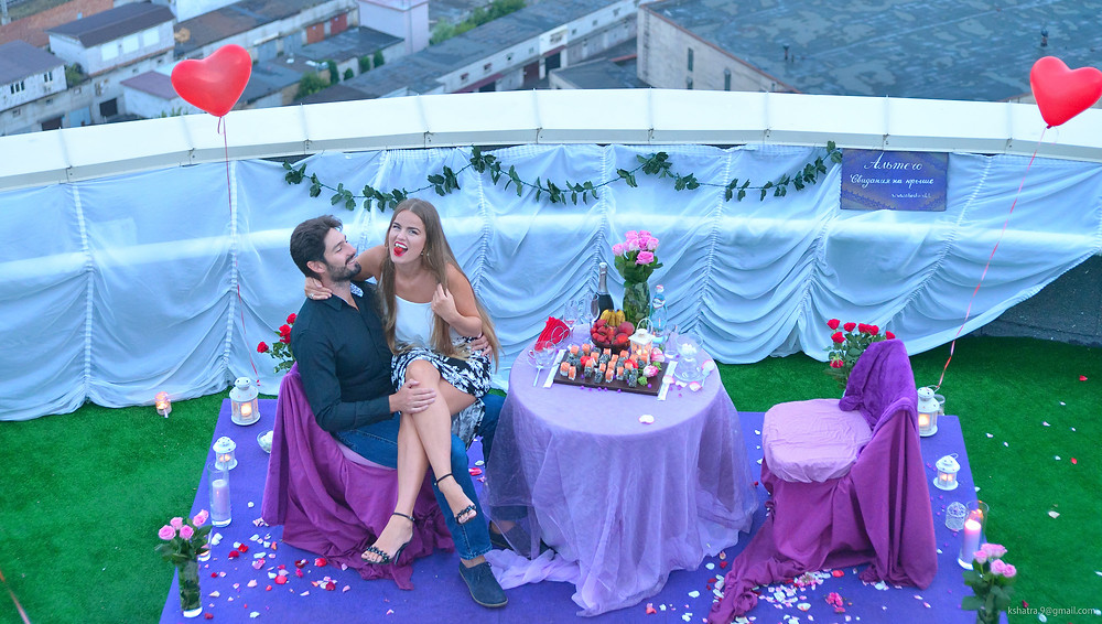 Альтечо: на небе от счастья, свидание на крыше 9