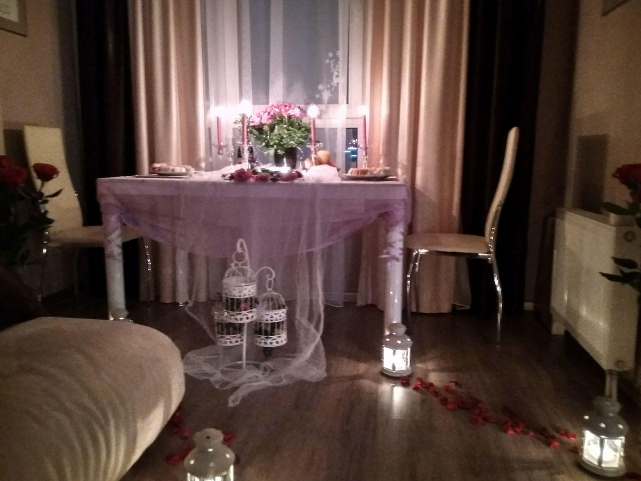 Романтический ужин дома, Киев, Альтечо (1)