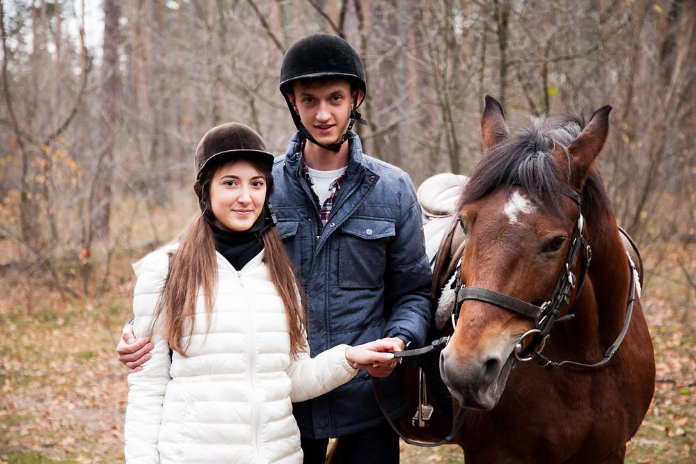 Романтический ужин в лесу с прогулкой на лошадях от сервиса романтики Альтечо