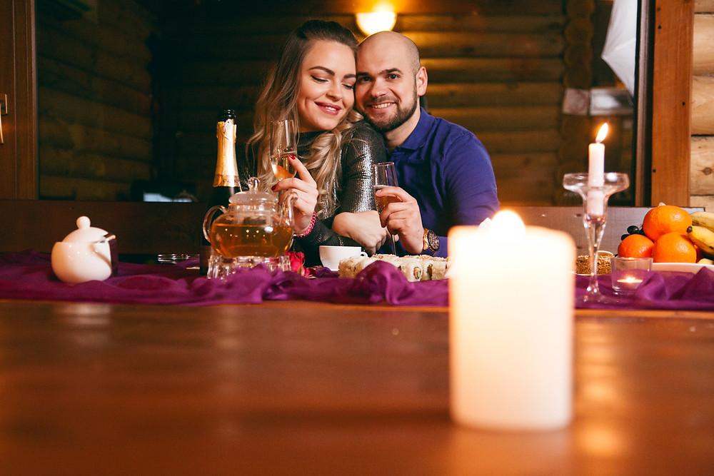 Романтический ужин в Чане Афродиты. Киев, Альтечо
