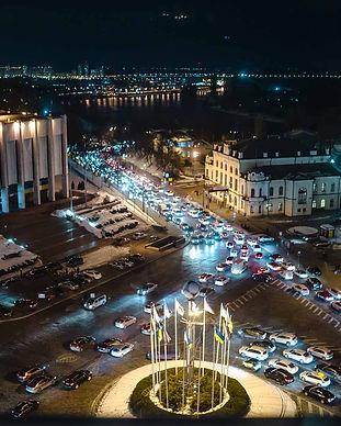 Романтический ужин в ресторане Панорама на Крещатике в Киеве