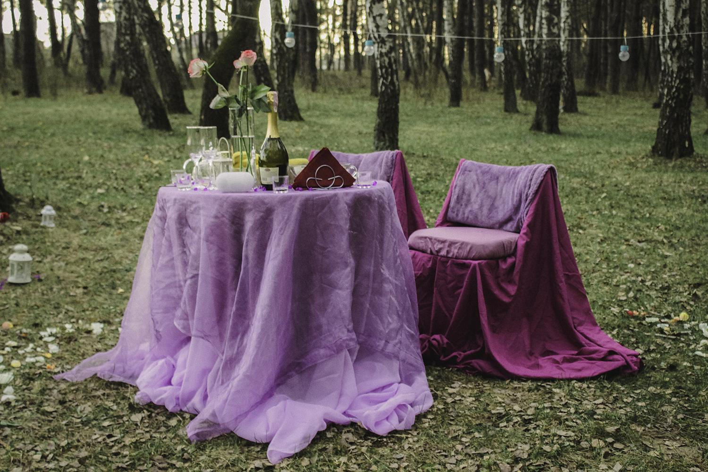 Альтечо, романтический ужин в лесу (7)