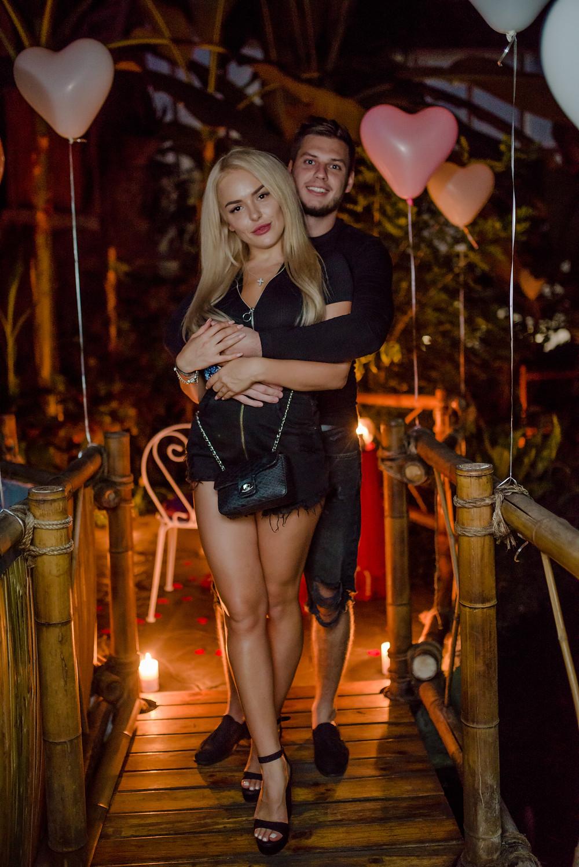 Романтическая фотосессия в Джунглях у Водопада от сервиса романтики Альтечо, Киев