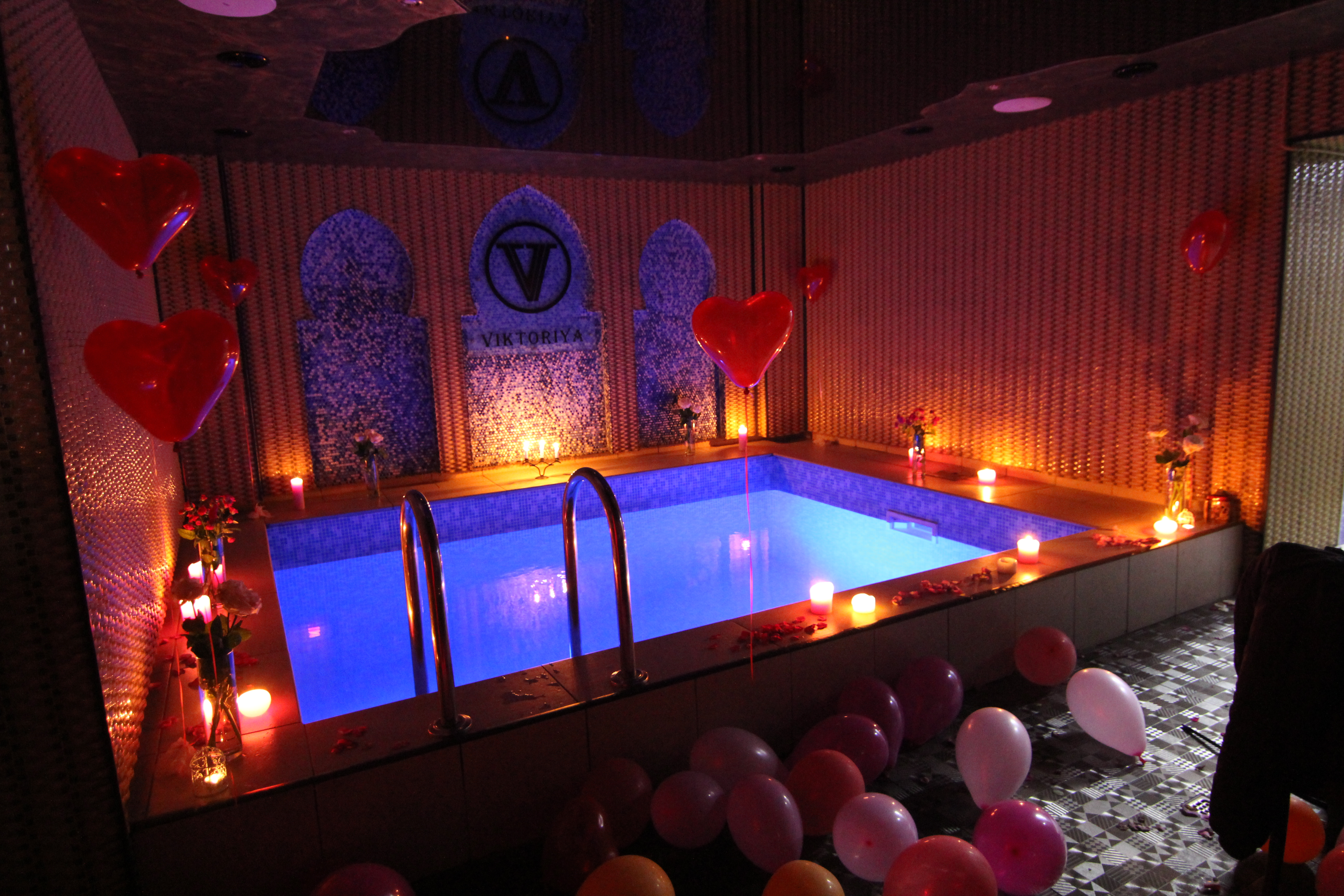 Альтечо, Романтический ужин в бассейне (1)