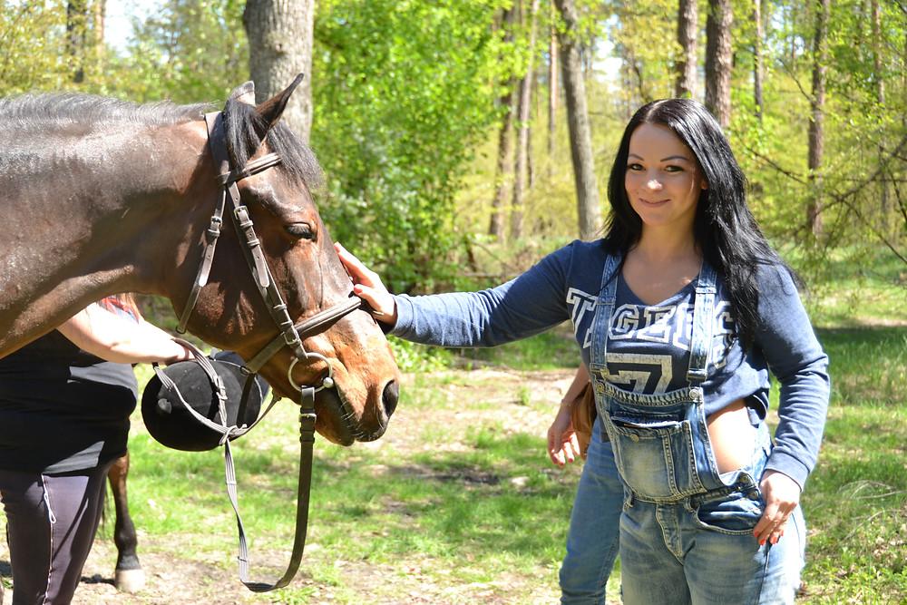 Романтический ужин в лесу с прогулкой на лошадях, Киев, Сервис романтики Альтечо