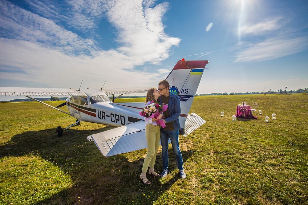 Свидание на самолете, Киев, Сервис романтики Альтечо