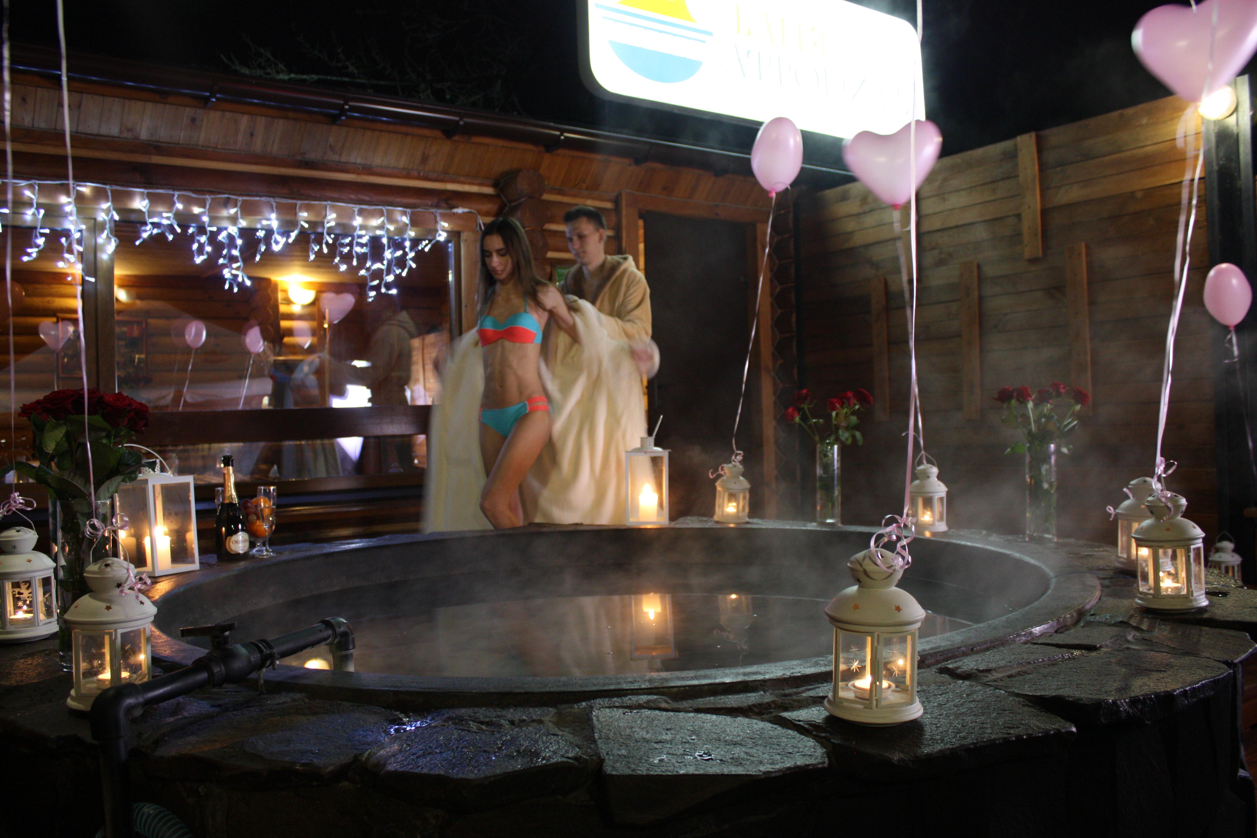 Романтический ужин в горячем чане Афродиты под открытым небом от сервиса романтики Альтечо (6)