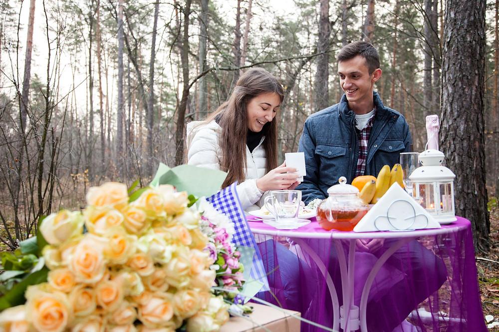 Романтический ужин в лесу с прогулкой на лошадях от сервиса романтики Альтечо 8