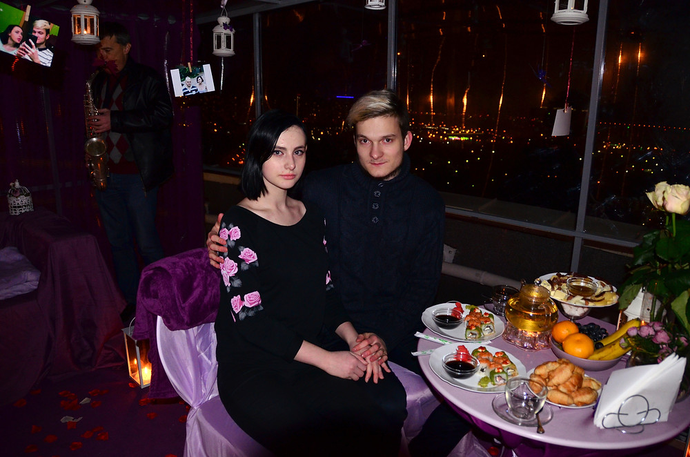 Ужин на крыше, Киев, Альтечо