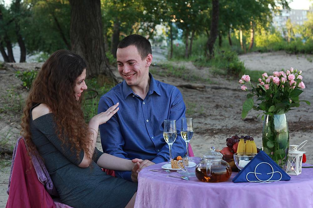 Романтический ужин на набережной. Альтечо 10