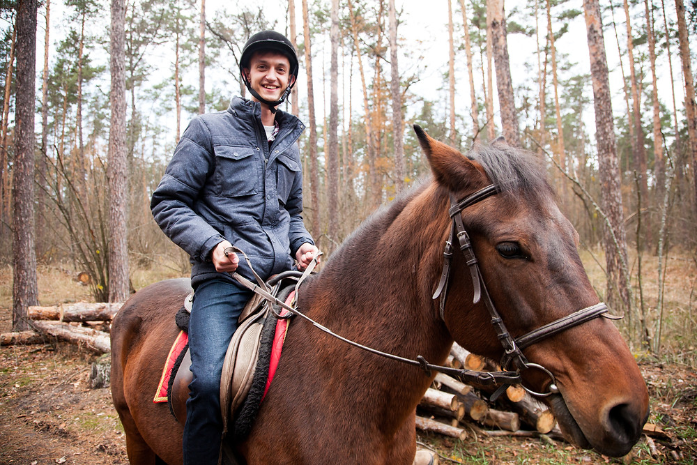 Романтический ужин в лесу с прогулкой на лошадях от сервиса романтики Альтечо 6