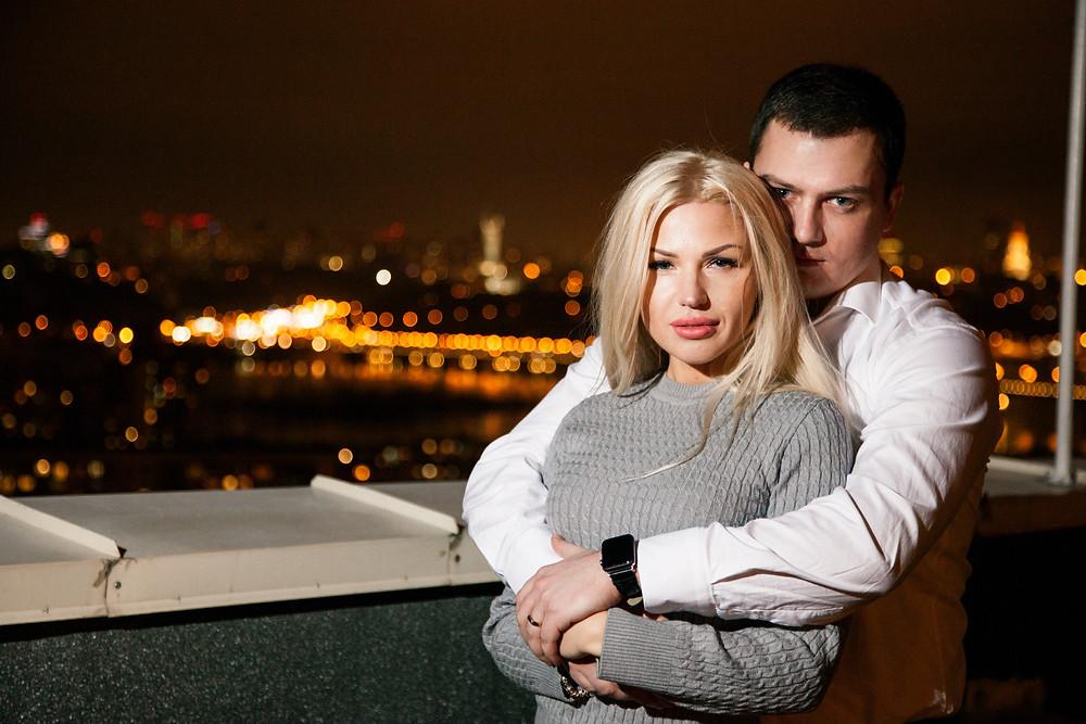 Романтический ужин на крыше, Киев, сервис романтики Альтечо
