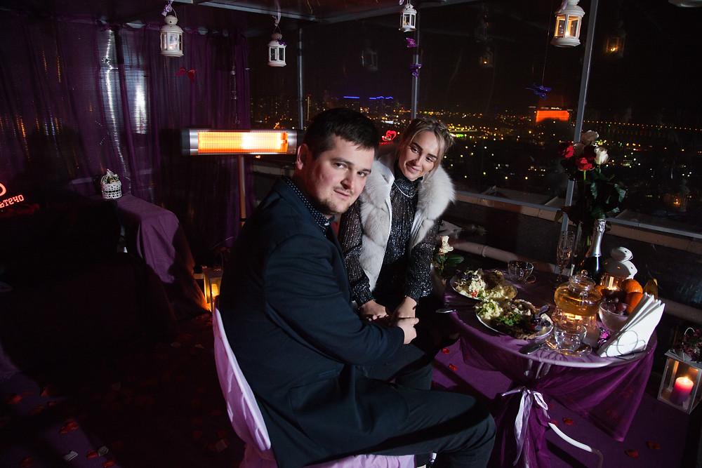 Вечер на крыше, Киев, Альтечо