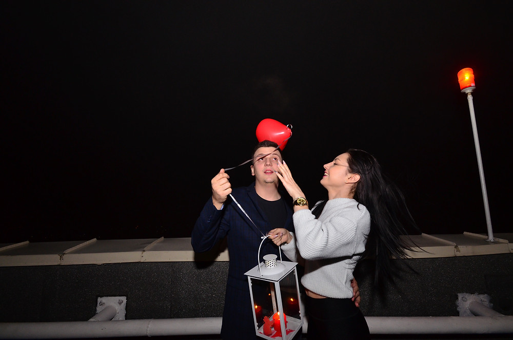 Романтический вечер, сервис романтики Киев, Альтечо