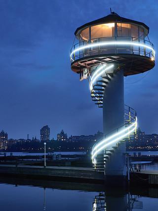 Романтический ужин на панорамном маяке