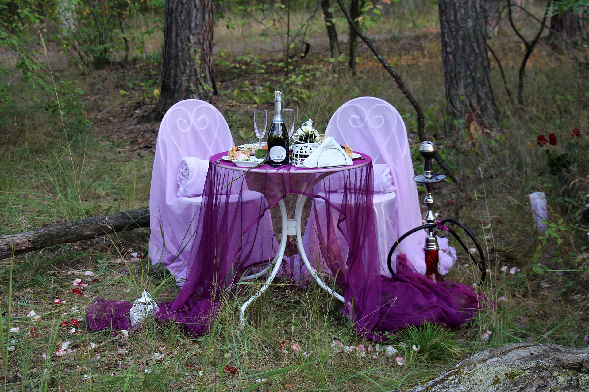 Ужин в лесу от Альтечо (5)