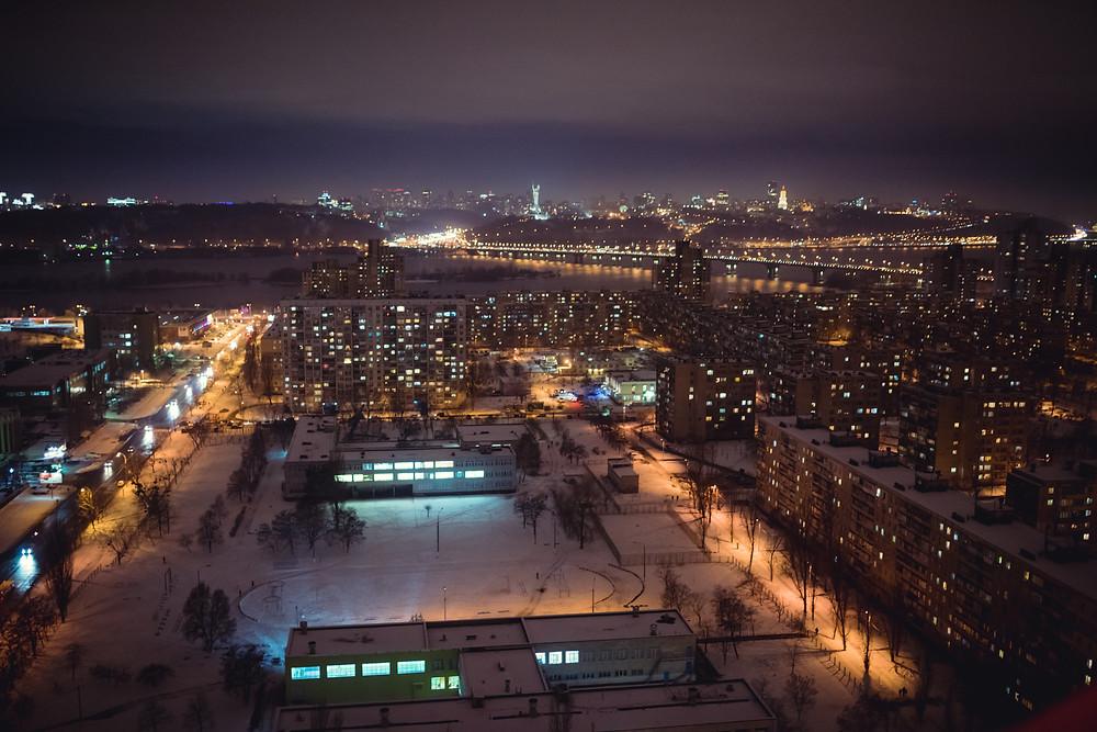 Киев в снегу. Свидание на крыше, Альтечо