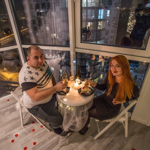 Романтический ужин в Ресторане для Двоих