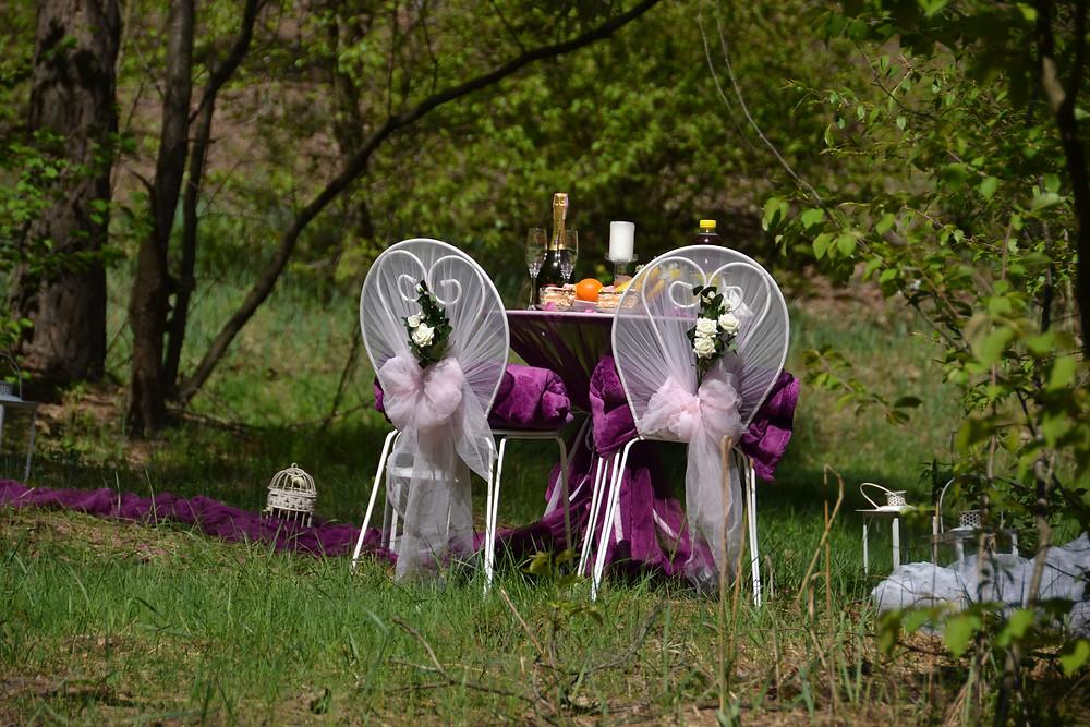 Романтический ужин в лесу с прогулкой на лошадях, Киев, Сервис романтики Альтечо 16