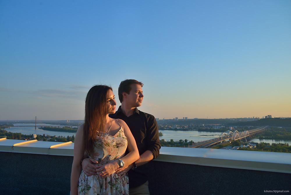 Закат, Альтечо свидание на крыше 6