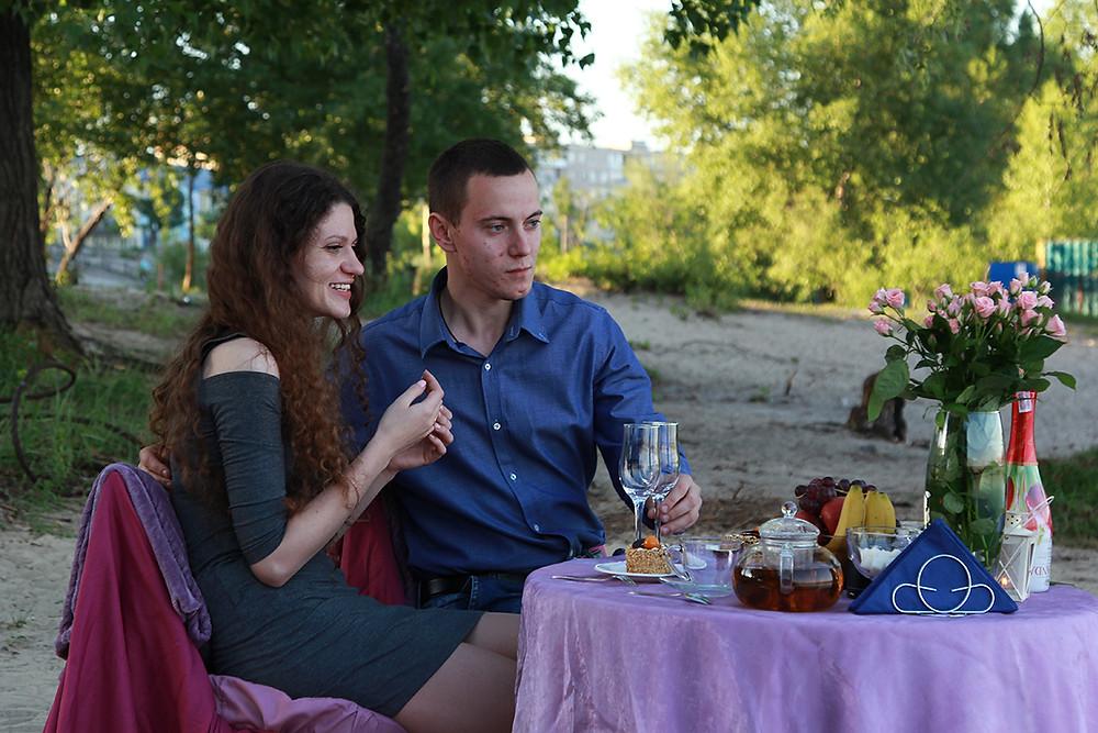 Романтический ужин на набережной. Альтечо