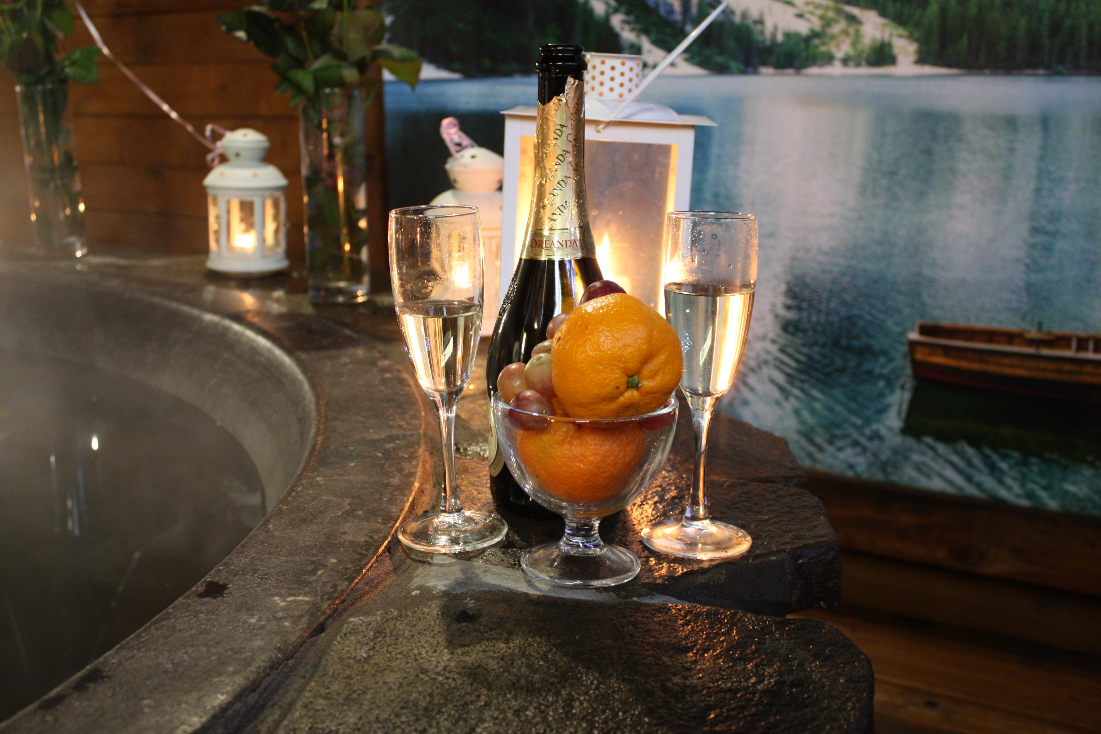 Романтический ужин в горячем чане Афродиты под открытым небом от сервиса романтики Альтечо (4)