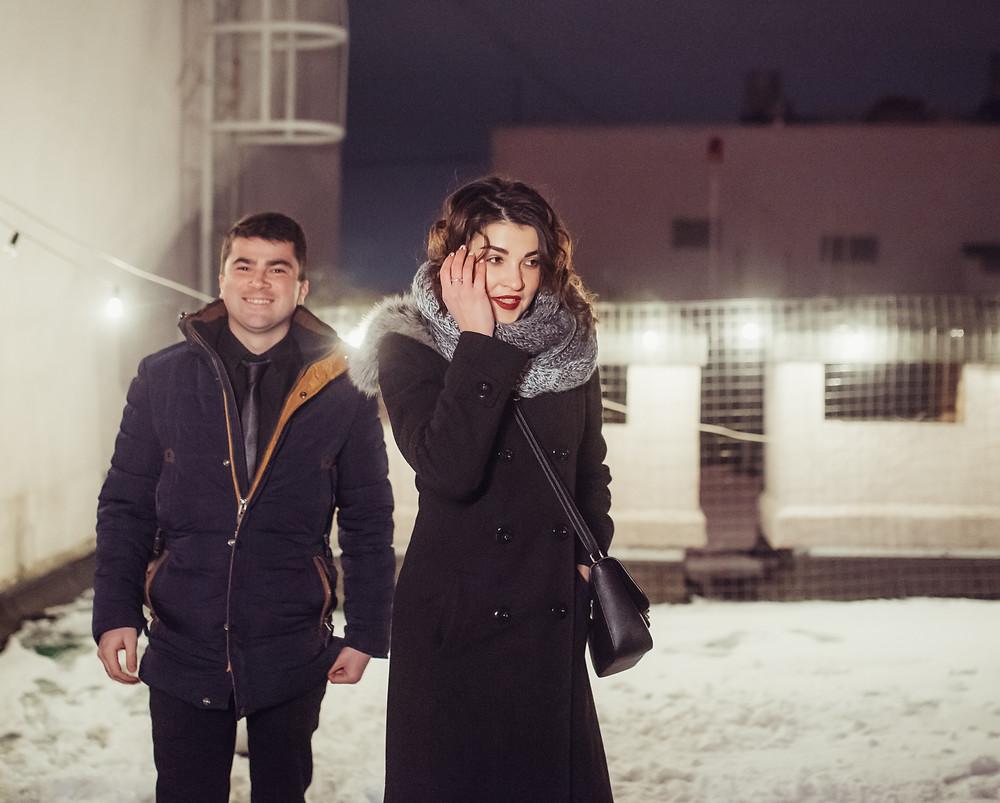 Свидание на крыше, Киев в снегу, Альтечо