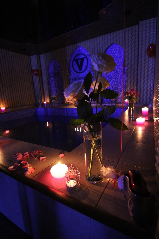 Альтечо, романтический ужин в бассейне 6