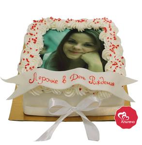 Торт с фотографией от Альтечо