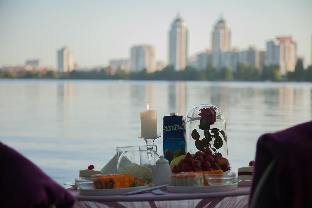 Свидание на пляже, Киев, Сервис романтики Альтечо 3