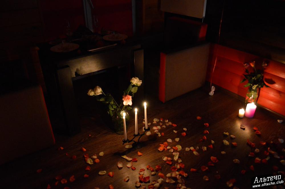 Альтечо, Романтический вечер, Свидание на крыше, ужин для двоих  15