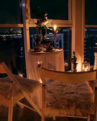 Романтический ужин в ресторане для двоих в Киеве