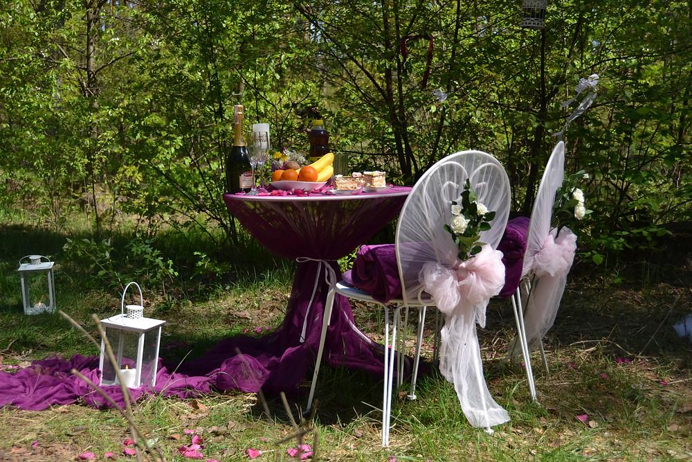 Романтический ужин в лесу с прогулкой на лошадях, Киев, Сервис романтики Альтечо 10