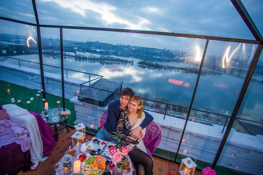 ресторан на крыше, Киев