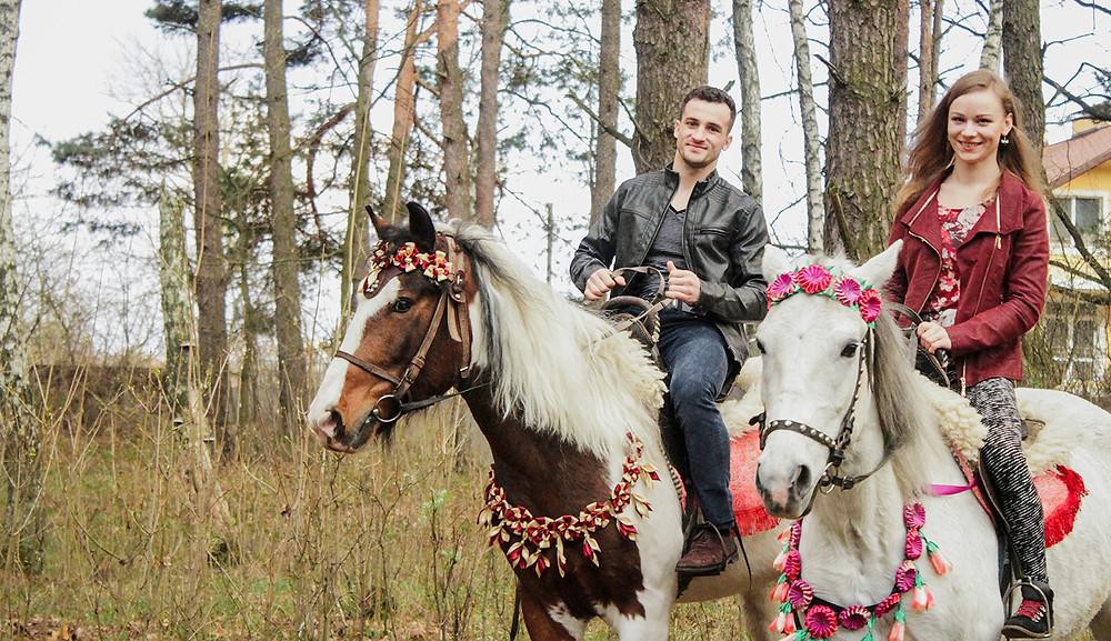 Альтечо, романтический ужин в лесу с прогулкой на лошадях 15