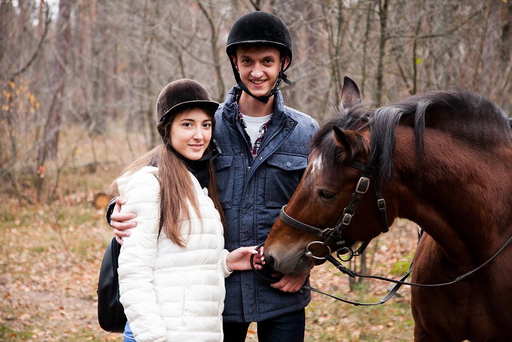 Романтический ужин в лесу с прогулкой на лошадях от сервиса романтики Альтечо 2